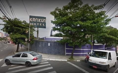 Imagem da faxada do 'Kankun Motel'