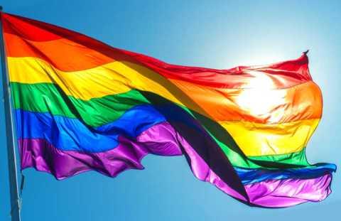 Bandeira LGBT estendida