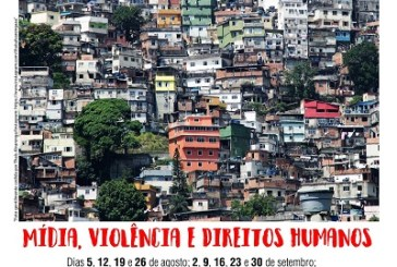 6º Curso de Extensão Mídia, Violência e Direitos Humanos lança edital