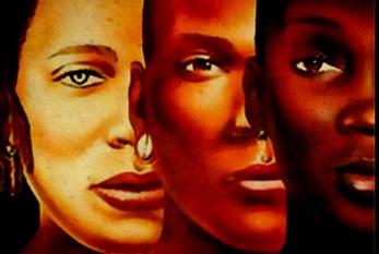 Mulheres negras marcham pela democracia e pelo futuro