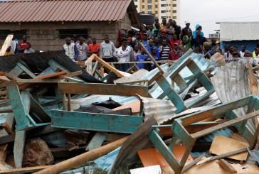 Desabamento de sala de aula mata crianças no Quênia