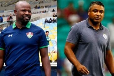 Com Marcão e Roger, Fluminense e Bahia fazem ação contra o racismo