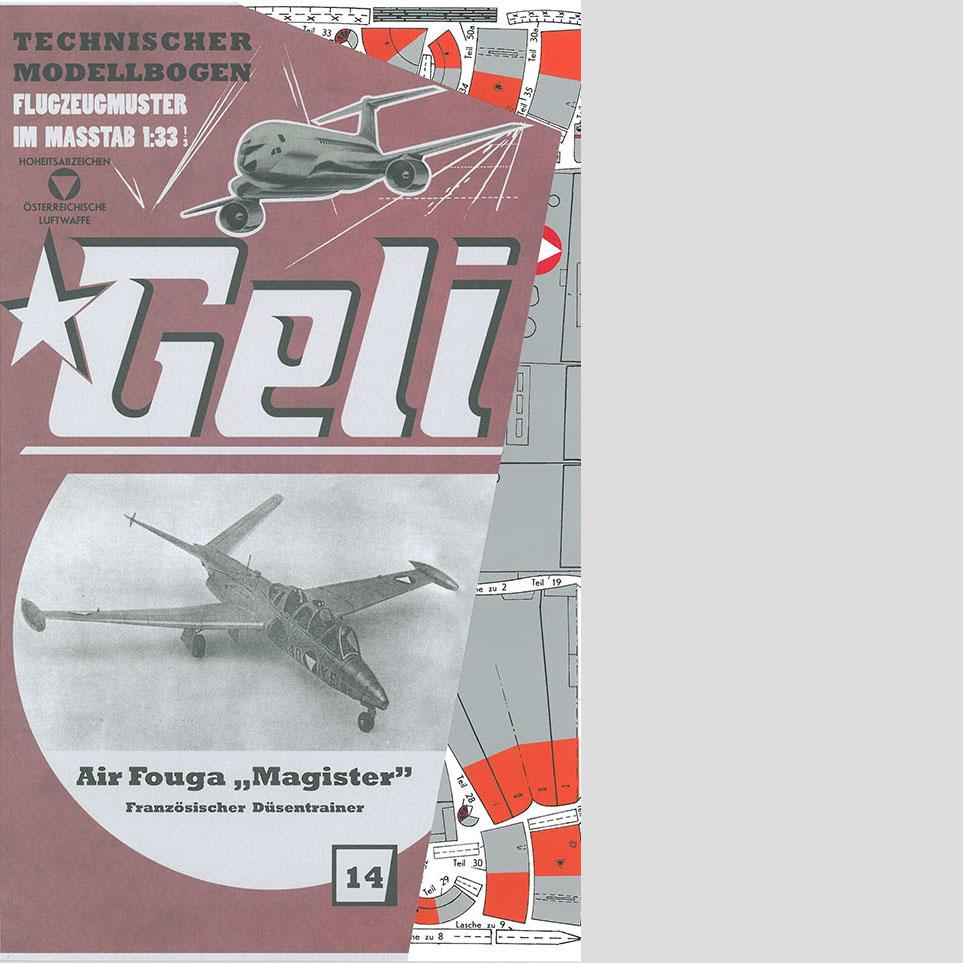 Fouga Magister Art.Nr. 34014