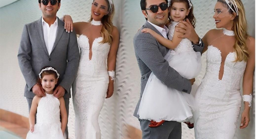 a0a6af78b9c5a Seren Serengil If Wedding Fashion İzmir Fuarı'na özel gelinlik giydi