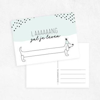langzaljeleven-geluksbrengertje-ansichtkaart-verjaardagskaart