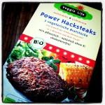 Das Power Hacksteak von Veggie life