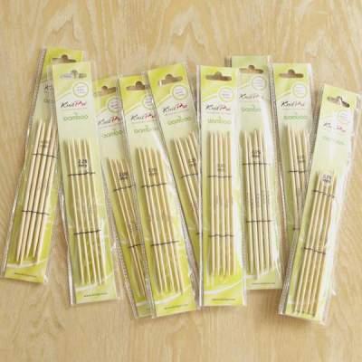 KnitPro Bamboo Nadelspiel 15cm