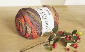 Mille Colori Socks and Lace Goldener Oktober