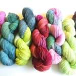 Handgefärbte Sockenwolle – Nachschub ist da