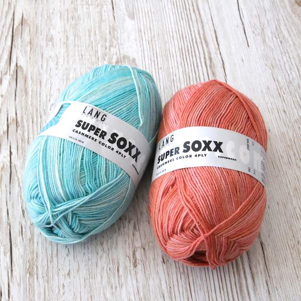 Lang Yarns Super Soxx Cashmere