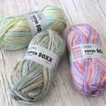 Super Soxx Cashmere und Super Soxx Alpaca – besondere Sockenwolle für schöne Herbstsocken