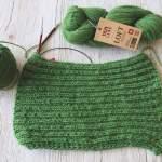 Stricken mit dicken Garnen – Loft von Lang Yarns aus traditioneller Herstellung