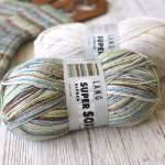 Super Soxx Alpaka von Lang – Sockenwolle mit Alpaka