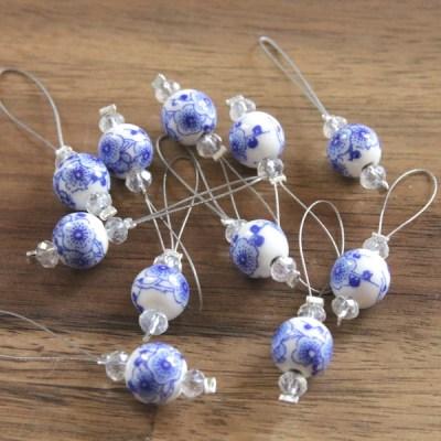 Knit Pro Maschenmarkierer Blooming Blue