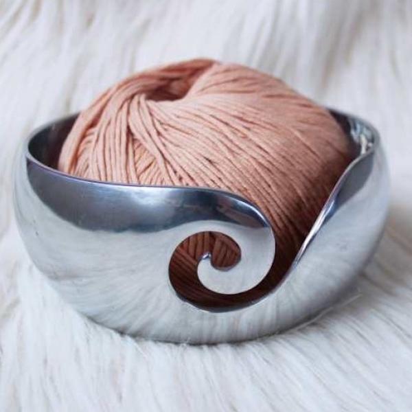 Furls Garnschale Silber
