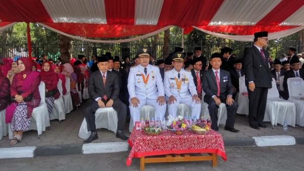 Walikota Pimpin Peringatan HUT RI ke-74 Budi Budiman : Jaga Pembangunan Kota Tasikmalaya