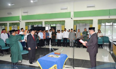 Dr. Zen Akhirnya Resmi Dilantik Jadi Sekda Kabupaten Tasikmalaya