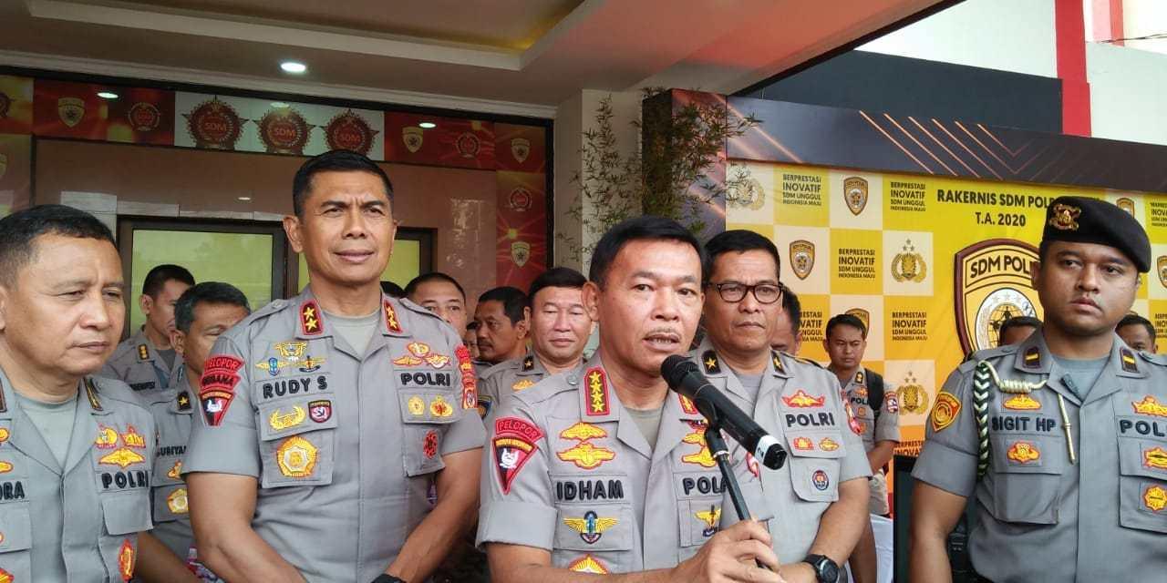 Kapolri Idham Aziz Tegaskan Rekrutmen Anggota Polri Gratis