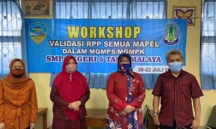 SMPN 5 Tasikmalaya Gelar Workshop Validasi RPP, Fasilitasi Siswa Belajar dengan Mudah dan Menyenangkan