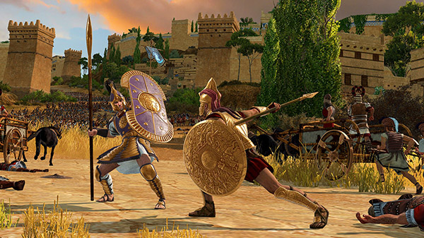 Revealed the gameplay of Total War Saga: Troy, the blockbuster strategy 2020