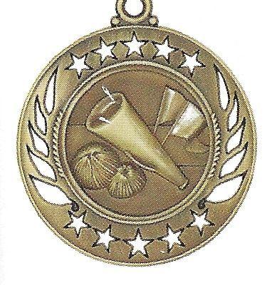 High End Cheeleading Medal