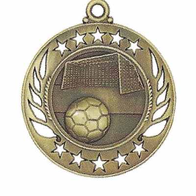 High End Soccer Medal