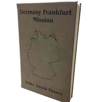 Custom Missionary Journal with Map