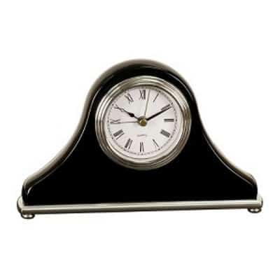 Black Piano Finished Clock
