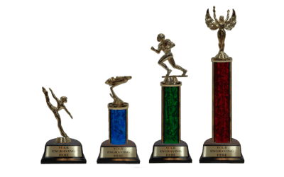 Build Your Own Trophies in 3 Simple Steps