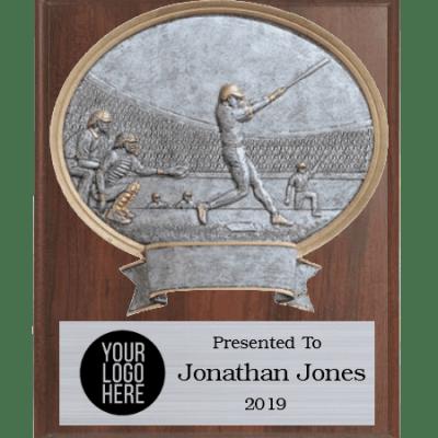 Wall Plaque Baseball Plaque
