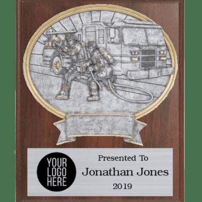 Legends Firefighter Plaque