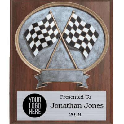 Legends Racing Plaque