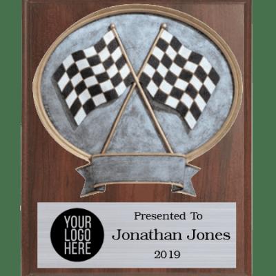 Legends Racing Plaque