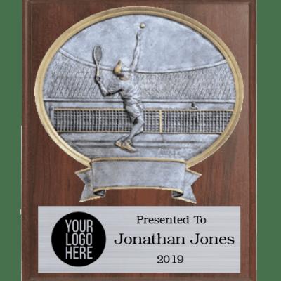 Legends Tennis Plaque