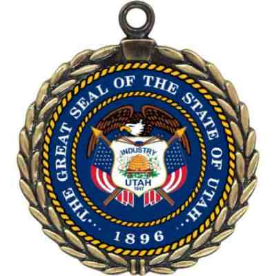 Wreath Custom Medals