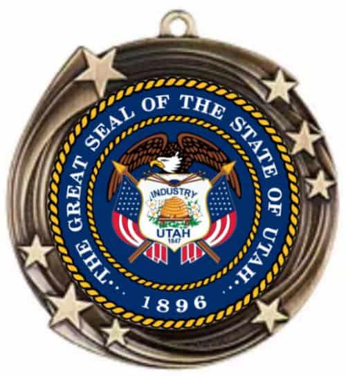 Custom Medal With Stars