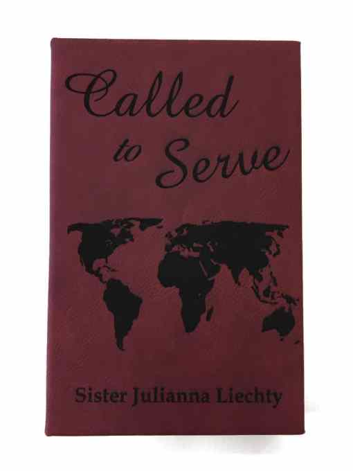 Red Leather LDS Missionary Journal