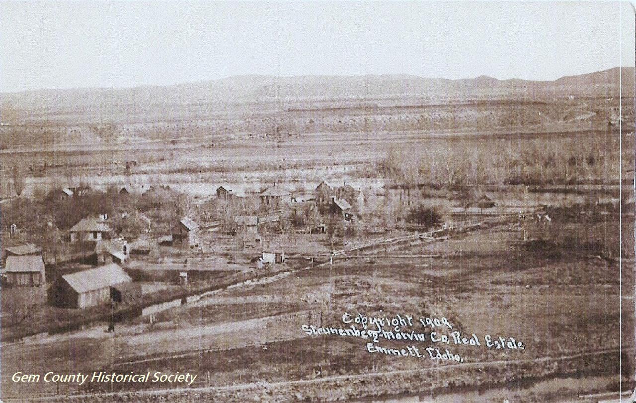 Gem County Historical Society Photo Emmett1909