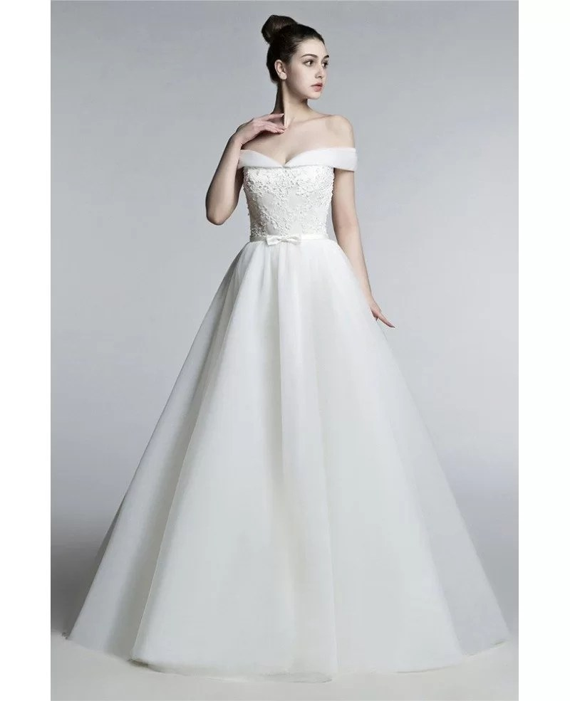 Shoulder Wedding Dress