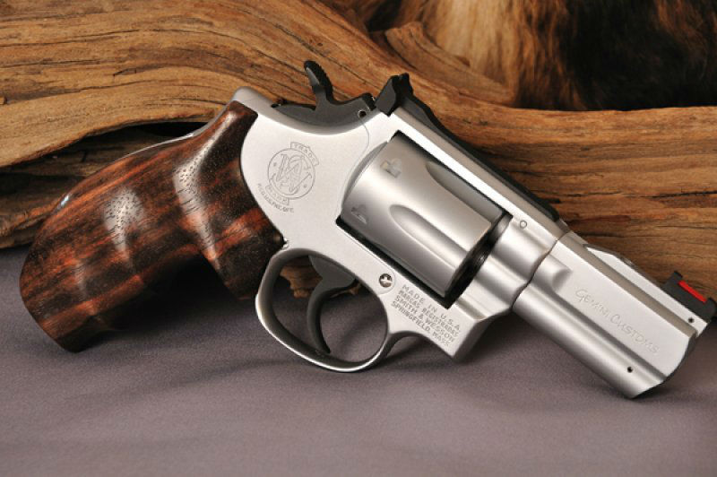 Exotic Wood Revolver Grips by Gemini Customs