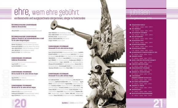 CHORJournal (Chorverband Steiermark)