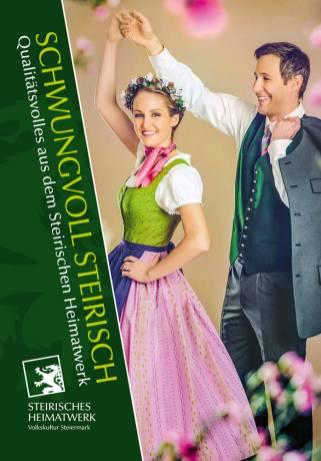 Folder Volkskultur Steiermark Steirisches Heimatwerk