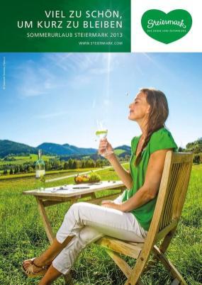 Steiermark Tourismus Sommermagazin 2014