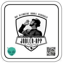 Jodler-App Bierdeckel