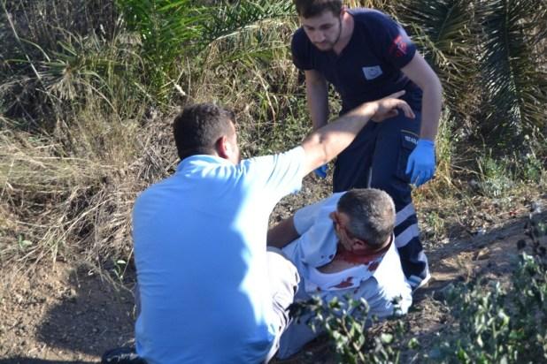 Gemlik-Jandarma-Araç-Takla-attı-02-1024x683 Gemlik'te Feci Kaza 2 Yaralı
