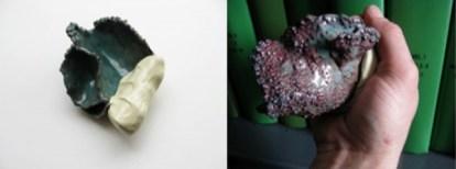 13. apertura13. copper, enamel, polymer clay, paint