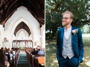 Greenstead Green church wedding in Essex