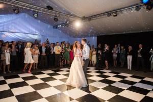 dance floor at Braxted park