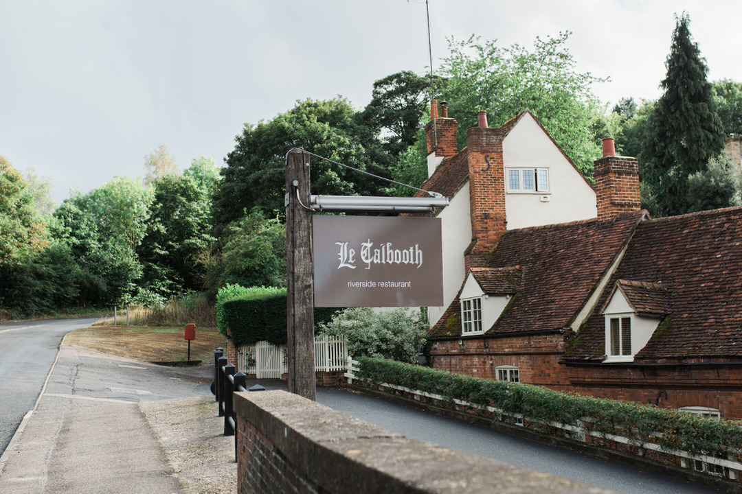 Le Talbooth, Restaurant
