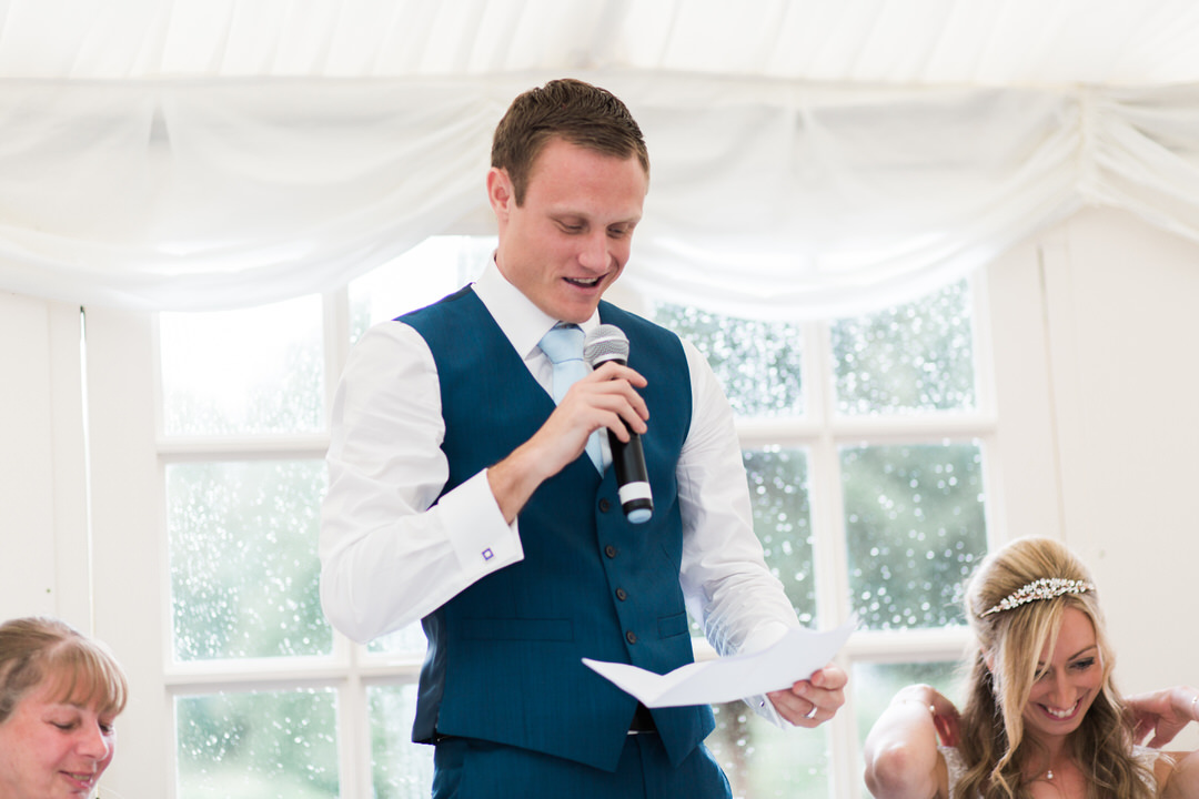 Le Talbooth marquee wedding